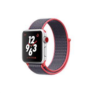 רצועת ספורט לשעון אפל צבע שחור/אדום