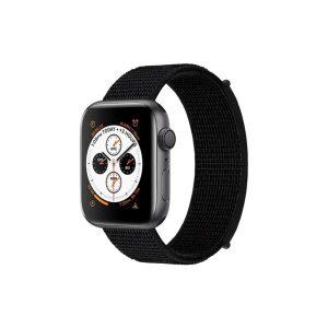 רצועת ספורט שחורה לשעון אפל