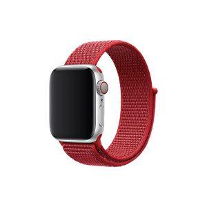 רצועת ספורט לשעון חכם אפל צבע אדום