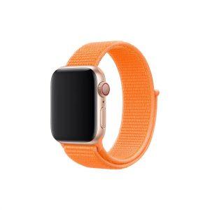 רצועת ספורט לשעון חכם אפל בצבע כתום
