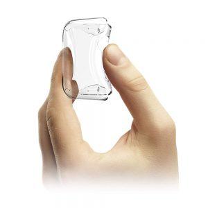כיסוי סיליקון לשעון חכם אפל כולל מגן למסך