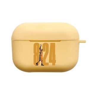 כיסוי לאיירפודס פרו Bryant 8|24 בצבע צהוב