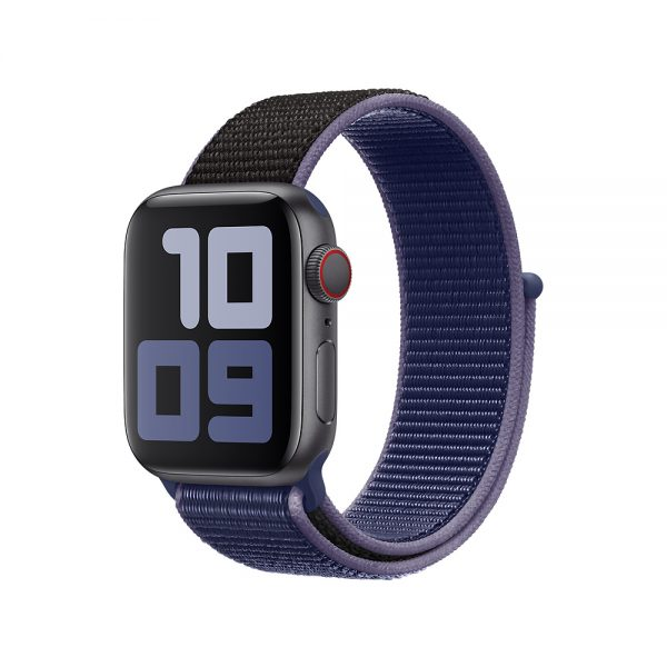 רצועת ספורט לשעון חכם אפל בצבע Midnight Blue