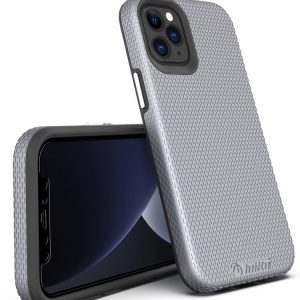 מגן קשיח לאייפון 12 טויקו בצבע אפור