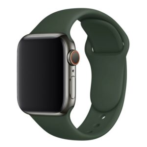 רצועת סיליקון לשעון חכם אפל בצבע Olive