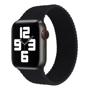 רצועת סולו לופ חבל לשעון חכם אפל בצבע שחור