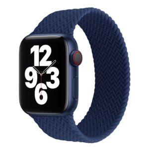 רצועת סולו לופ חבל לשעון חכם אפל בצבע כחול