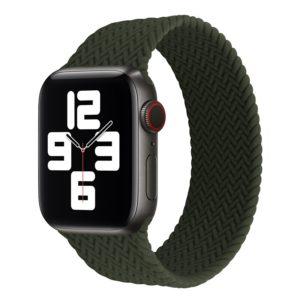 רצועת סולו לופ חבל לשעון חכם אפל בצבע ירוק
