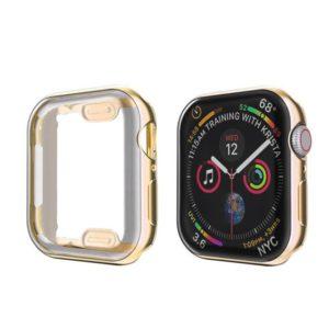 כיסוי סיליקון לשעון חכם אפל בצבע זהב